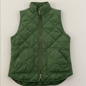 J Crew quilted puffy vest